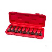 Set di prese di corrente HBM a 8 pezzi con scanalatura lunga