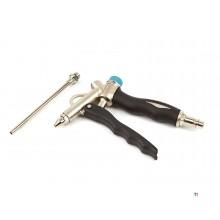 Golpe HAZET pistola de aire a corto y largo nariz y regulador de presión - 9040-4