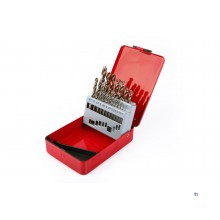 HBM 1-10 x 0.5mm hss - 5% cobalt drill set