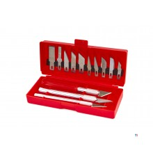 HBM 16 Stück Hobby Messer Set