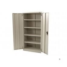 armoire d'atelier hbm profi avec 4 étagères