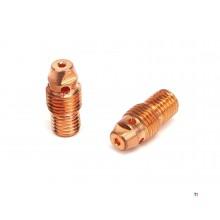 HBM Spantanghouder 1.6 mm. TBV, Tig electrode