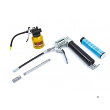 HBM grease gun with 120cc oil can