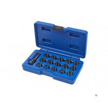 HBM 16-piece wire repair set for spark plugs