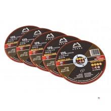 Merryland Edelstahl-Schneidscheibe für den Winkelschleifer, verpackt pro 25 Stück