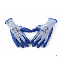 gants de construction en latex silverline