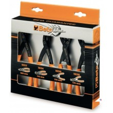 BETA 4-piece set of circlip pliers - 1031