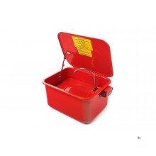HBM 15 liter degreaser tray with pump