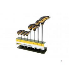 Proxxon L-håndtak skrutrekkersett 8-delt Inbus