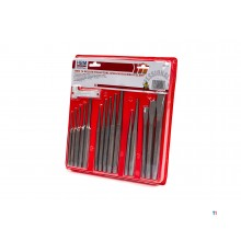 HBM 16-piece pen ejector and cold chisel set