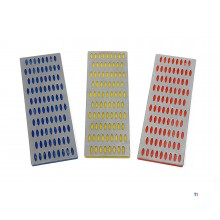 HBM 3 Piece Diamond Whetstone Set Grit 200 - 300 - 400