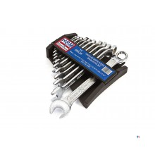 HBM 11-piece English deep open-ended spanner set