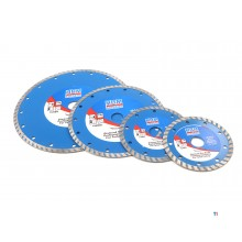HBM 125 mm diamond cutting disc turbo