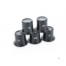HBM 5-Piece Eye Loupes Set