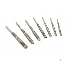 HBM 7-piece adjustable reamer set 6mm to 12mm