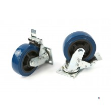 HBM professional 150 mm. Swivel castor with brake