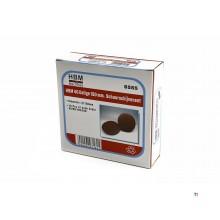 HBM 40 parts 150 mm.self-adhesive sanding disc set