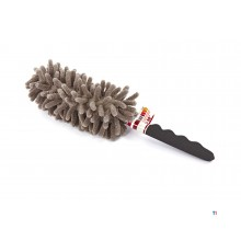 HBM telescopic dustpan / feather duster