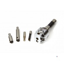 HBM 5 parti 50 mm. Set di teste di perforazione R8