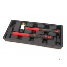 HBM 2 Piece Hammer Set Inlay til HBM Tool Trolley