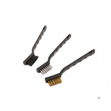 HBM 3-Piece Mini Steel Brush Set