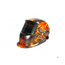 HBM automatic welding helmet model 7 - skull