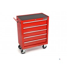 HBM 5 drawers tool trolley small