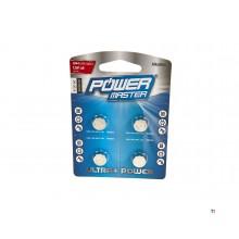 Silverline Alkaline Batterie LR 44 - 4 Stück