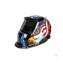 masque de soudage automatique hbm modèle 9 - usa eagle black