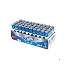 Silverline AAA Super Alkaline Batterij LR03 - 40 Stuks