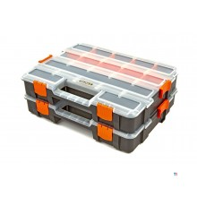 HBM 37.5 cm. 2-piece assortment case set