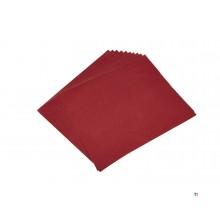 Confezione da 10 pezzi di carta vetrata HBM