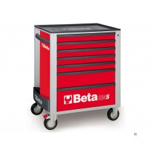 Beta 7 Loading Tool Cart Red - C24S 7 / R - 024002073