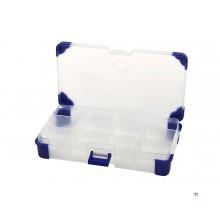 Boîte d'assortiment hbm profi 16,5 x 9,5 x 3 cm