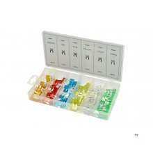 HBM 120 piece mini car fuses assortment