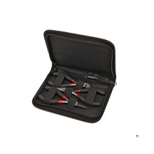 HBM 3-piece pliers set in a case
