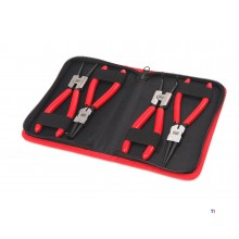 HBM 4 pieces 175mm snap ring / holding pliers set