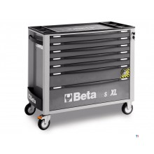 Beta 7 Loading XL Tool Cart Gray - C24SA-XL 7 / G - 024002272