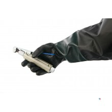 HBM universal set of gloves for blast cabinet