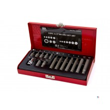 AOK 15-piece Professional Inbus Bit Set with ½