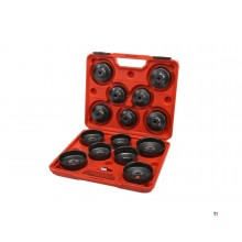 HBM 15-piece oil filter disassembly set - oil filter cover set