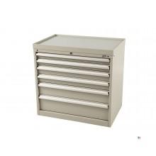 HBM 6 drawers profi tool cabinet 88 x 58 x 80 cm