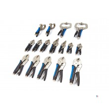 HBM 16-piece locking pliers set