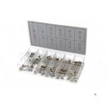 HBM 100 piece glass fuses assortment