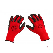 HBM pu work gloves
