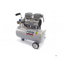 HBM 30 liters profesjonell lav støy kompressor - brukt