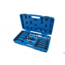 HBM 17-piece inner bearing puller set 8 - 58 mm.