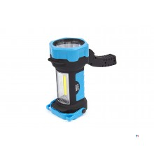 HBM 2 in 1 LED Zaklamp en Bouwlamp