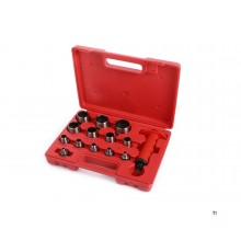 HBM 14-piece hollow pipe set