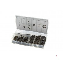 HBM 300 piece e-clip assortment